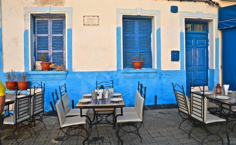 Azul intenso, azul de Assilah