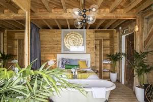 Bedroom + bath
