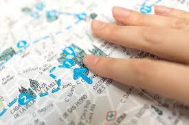Mapa ciegos