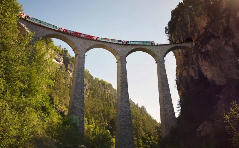 Trenes panorámicos suizos: 5 experiencias únicas