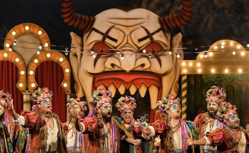 Vive el carnaval de Cádiz