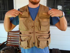 Fishing-vest
