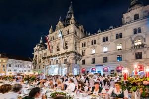13 Long Table of Graz (c) Graz Tourismus - Werner Krug