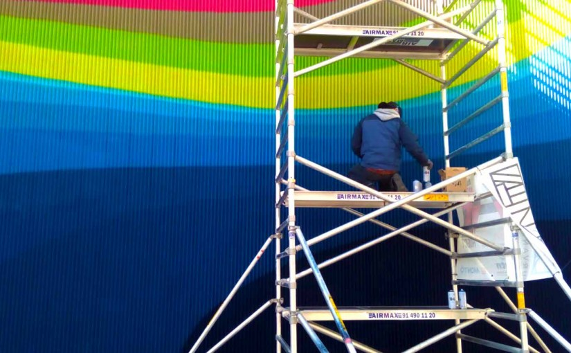 Los nuevos murales de Madrid