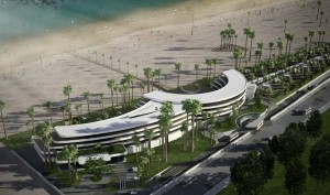 AVANI Gammarth Tunis Resort & Spa exterior rendering low res