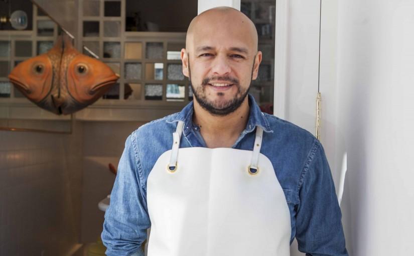 Entrevistamos al chef Jaime Monzón durante una clase de cocina peruana