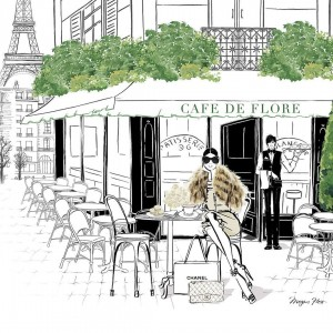 FOTO PARIS CAFE DE FLORE