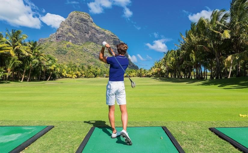Golf en la isla Mauricio
