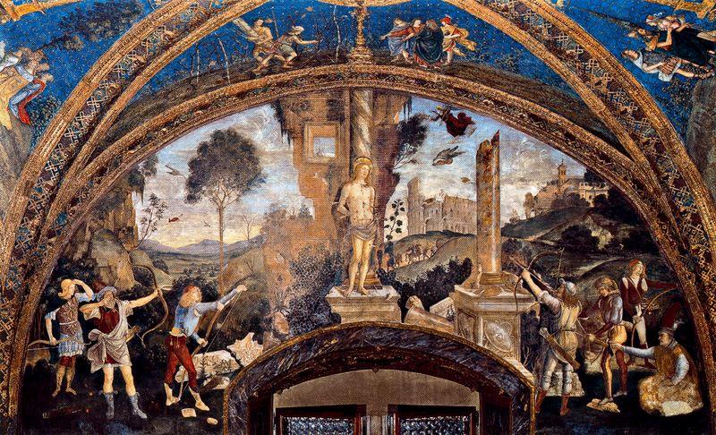 13-25-pinturicchio-appartamento-borgia-martirio-di-san-sebastiano