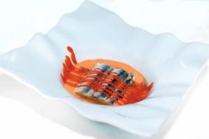 8 canales lasaña de antxoas