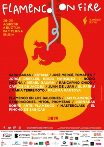 Cartel Flamenco On Fire 2019