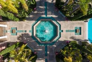 3 Anantara_Villa_Padierna_Palace - Pool Fountains Drone View
