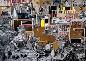 (GALERÍA NF)Moris, El pago de la avaricia (2019), cortesía del artista y NFNIEVES FERNÁNDEZ.