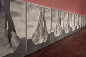 (SABRINA AMRANI. galería calle madera). Babak Golkar. Deaf Feet, 2019
