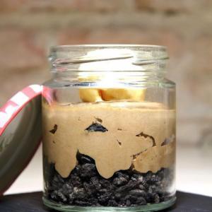 Treze_Mousse de chocolate, oreo y helado de vainilla