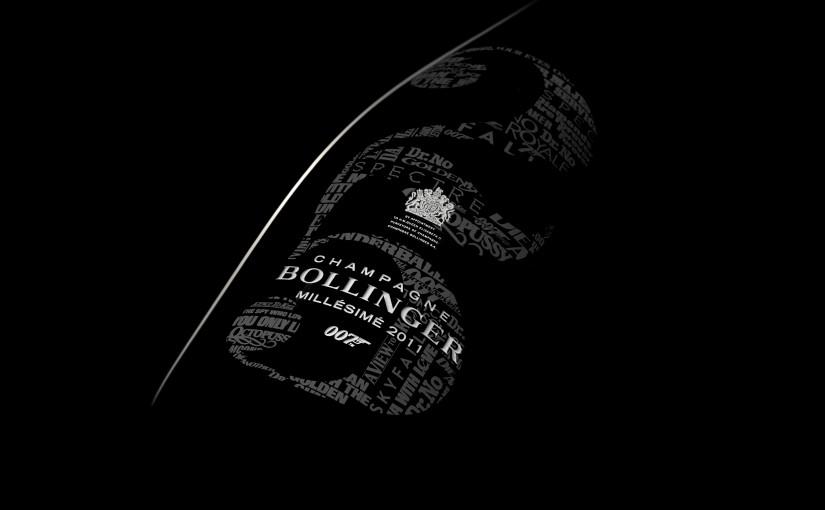 El champagne que rinde homenaje al Agente 007