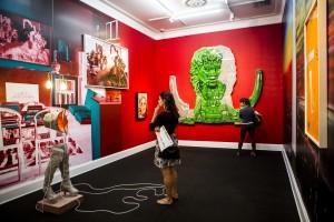 Exposición en la Asociación Mario Testino - MATE, en Barranco.