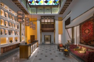 Souq Waqif Boutique Hotels by Tivoli_Najd Boutique Hotel - lobby high res