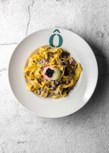 6 Papardelle de trufa y setas con huevo poché-Oven(2)