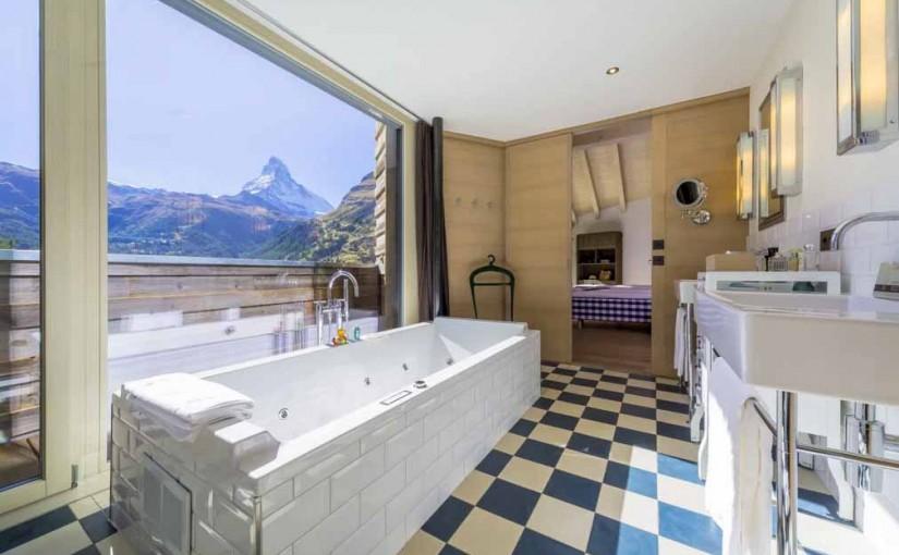 Cinco baños suizos para sumergirse en el paisaje