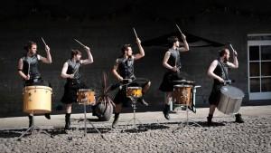 Foto 3 The Hit Machine. Deltic Drummers