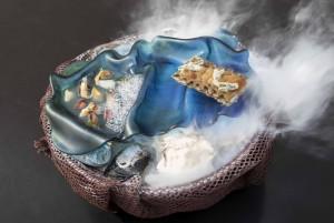 Foto 13 Bluehole_golpe de mar a la orilla del Caribe