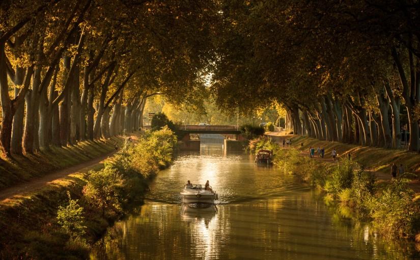 """Le Canal du Midi  Photo utilisée le magazine """"A Toulouse"""" p6-7 n°47 Février-Mars 2017"""