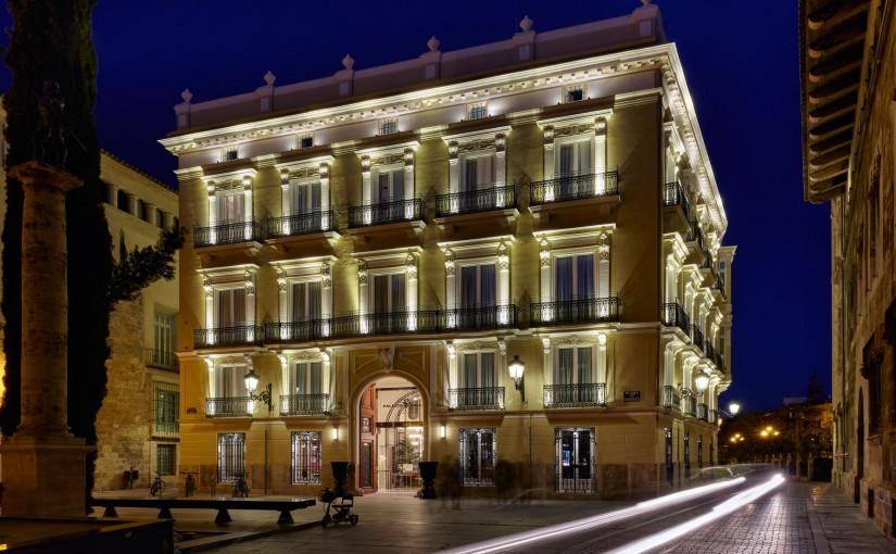 Palacio Vallier, un palacete del siglo XIX reconvertido en hotel de lujo