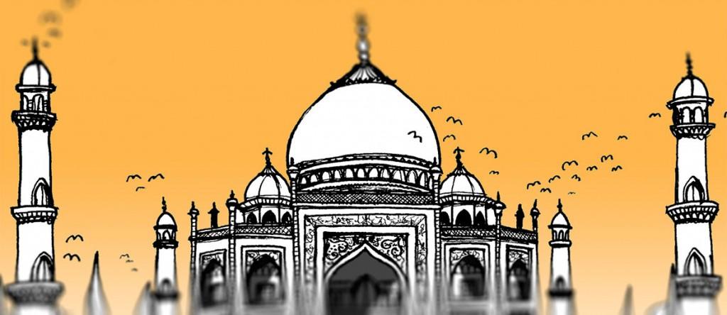 Al y Tum en la India