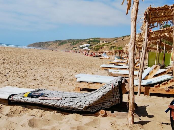 Un té a la menta… en la playa