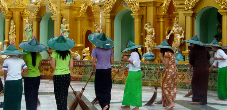 Yangón: Romántica y desconocida