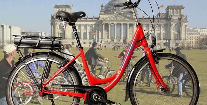 Berlín y su arquitectura en bicicleta