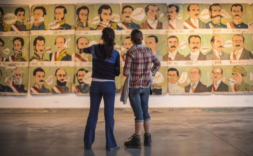 Exposicion en el Museo de Arte Contemporáneo, en Barranco.