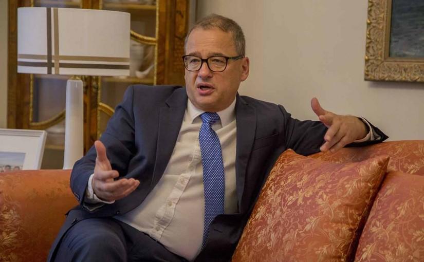 Entrevista al Excelentísimo Sr. Embajador de la República Checa en España Don Ivan Jančárek